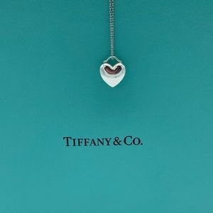 Tiffany & Co. Puffed Heart Necklace 💙